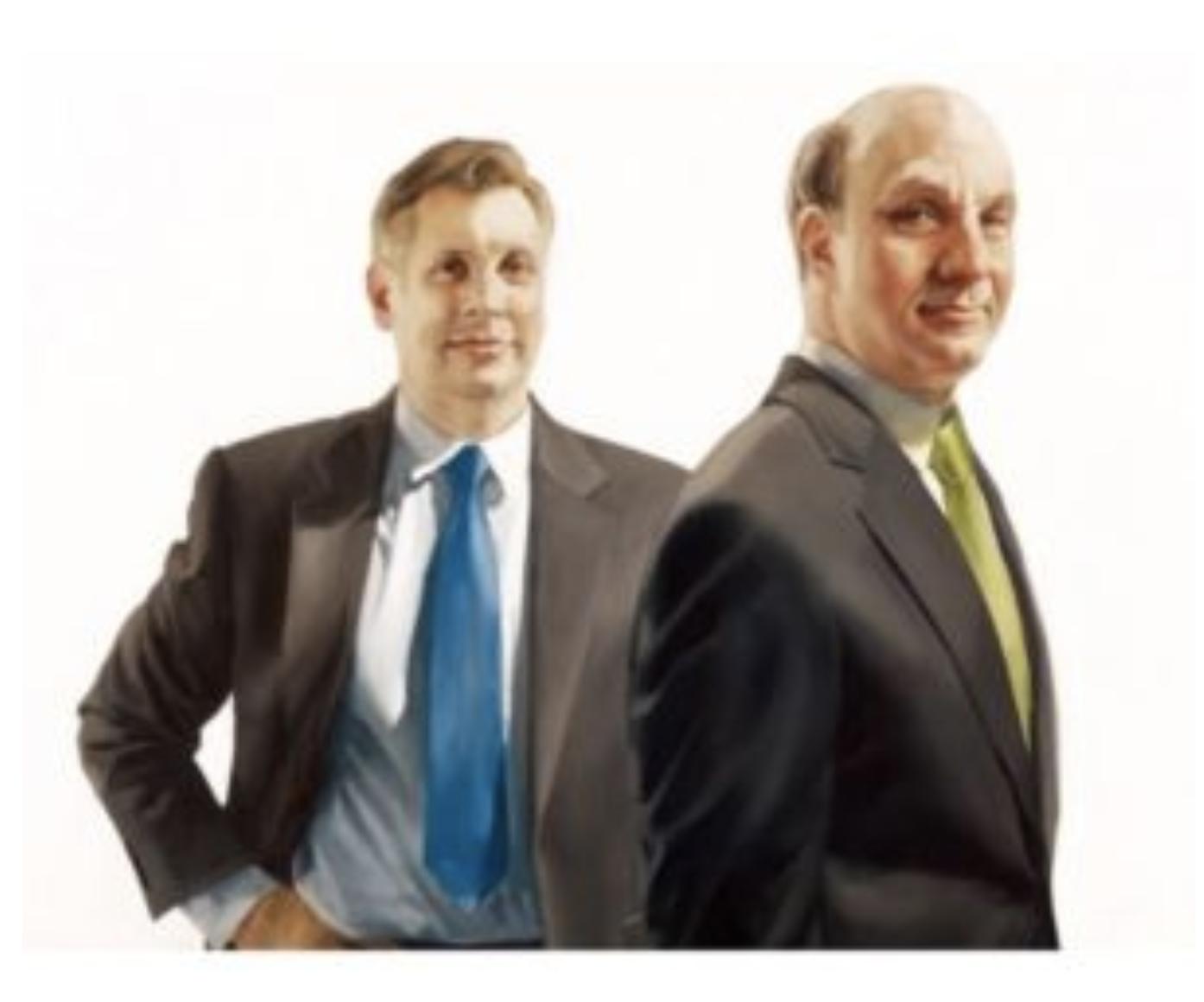 ジョン・オーバーデックとデービッド・シーゲル